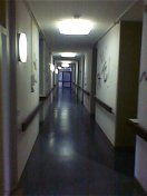 clare's corridor - inviting or what!