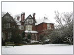 My home in the snow, Datchet, UK