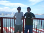 [13] Leaving Penang by ferry