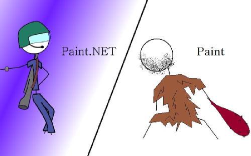 Paint.Net vs Paint