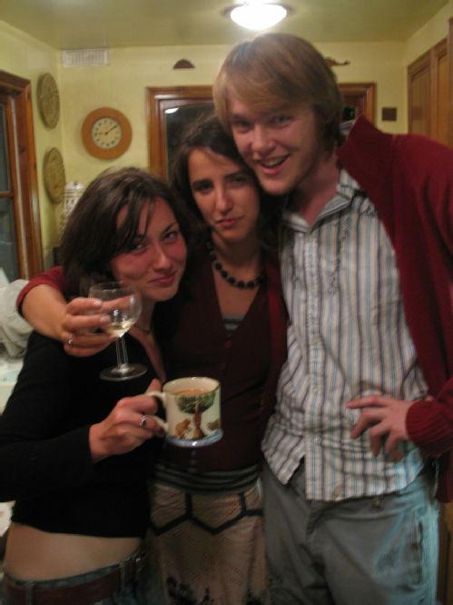 Em, Slyv, and I