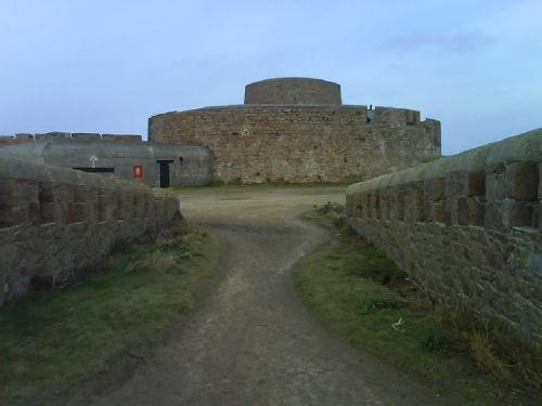 a Nazi bunker in Gurnsey