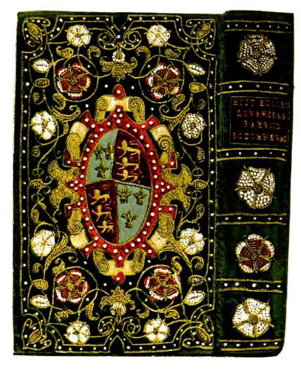 Embroidered books alice s teaching
