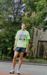 Me after the Great North Run 2005