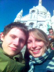 Me and Hannah at Montmartre