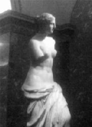 The Venus de Milo in the Louvres