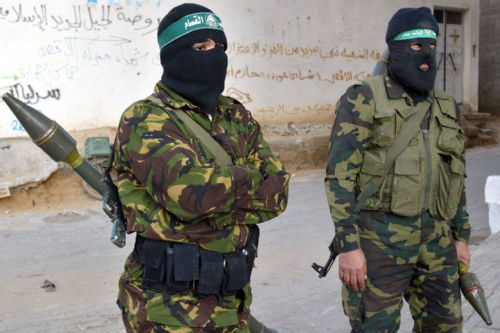 Hamas members