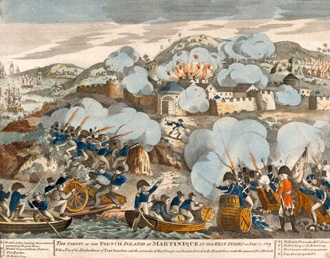 The British Invasion of Martinique in 1809