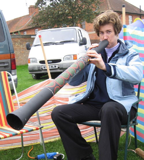 me and my didgeridoo!