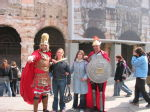 Me and Anna with the Romans