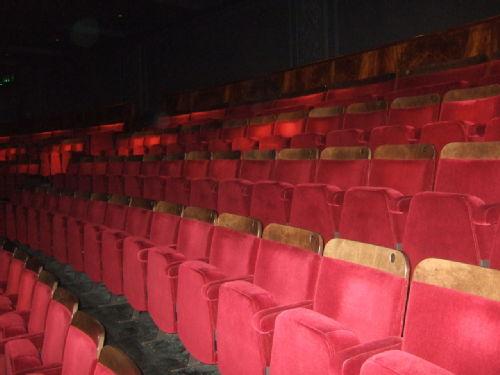 Empty seats © Maria Barrett