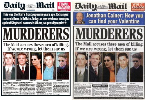 Daily Mail Headlines - Spot The Difference