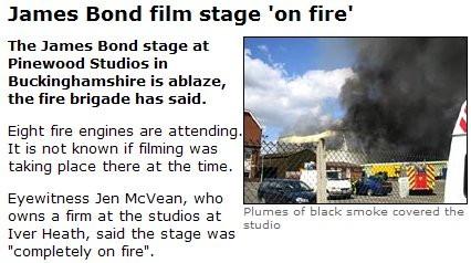 Bond Fire