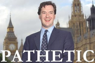 Pathetic George Osborne