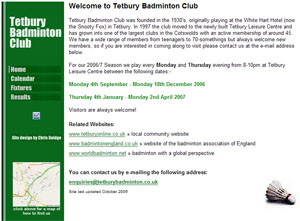 Tetbury Badminton