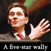 David Miliband - a five-star wally