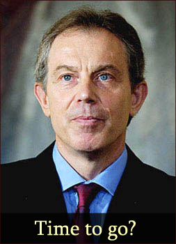 Tony Blair - Time to go?