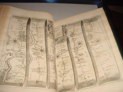 'Britannia', by John Ogilby, 1675