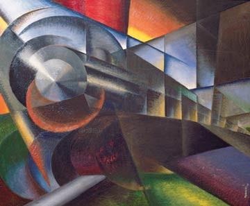 """Speeding Train"", Ivo Pagganni"
