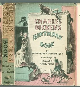 dickens birthday book