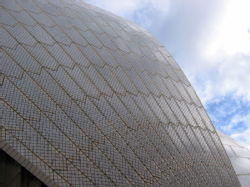 Opera House close up