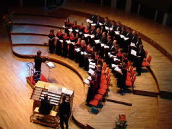 Chamber Choir at Symphony Hall, Birmingham