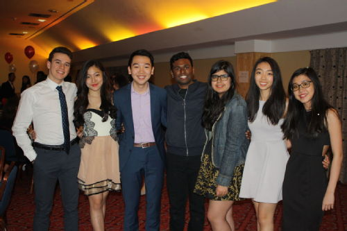 The incoming Executive Board of AIESEC Warwick 17.18, including the Entity President for 16.17, Timothy Yeo (3rd from left)