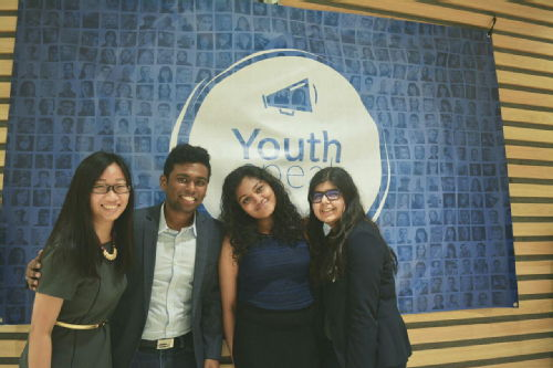 y conference team for AIESEC Warwick