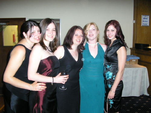 Amy, Alex, Penny, Kate and Me