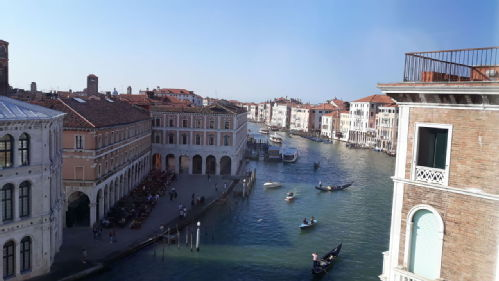 Grand Canal from Fondaco dei Tedeschi