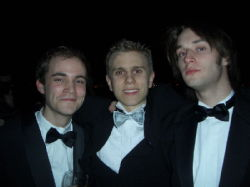 Bow ties and Simon, Mark and Thom