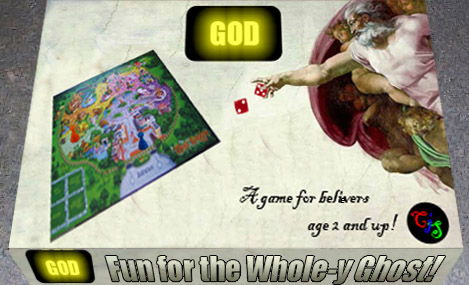 A game for believers aged 2 and up