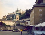 1. Salzburg - by the festival house