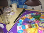 Trivial Pursuit and weapon