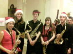 The Wind Orchestra Saxophone Section