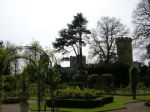 Warwick Castle and Rose Garden (no roses though)