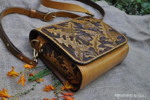 Handbag messanger in Kazakhsha style