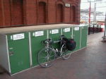 Secure cycle storage Rugby Railway Station