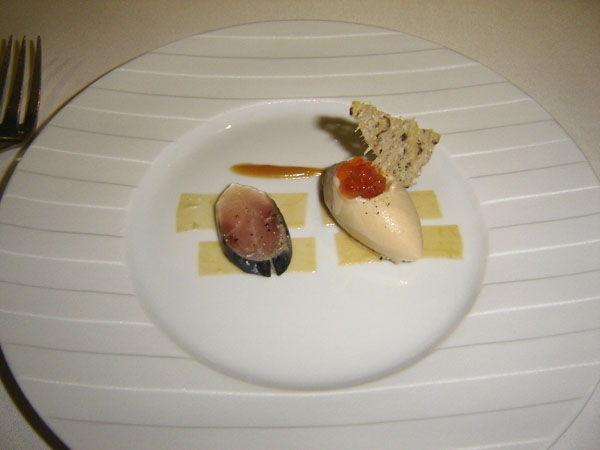 Sardines on toast sorbet