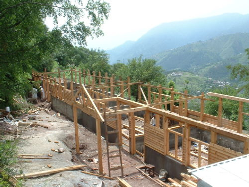 Progress at Mang School 19-7-06
