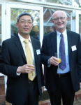 Dr. Dawei Lu and VC Prof. Nigel Thrift