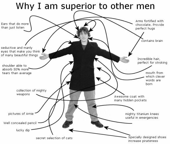 why i am superior to other men  30  12  04  dan lawrence u0026 39 s blog
