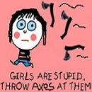 Girls stupid