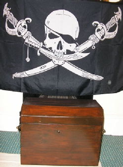The Chest and the Flag