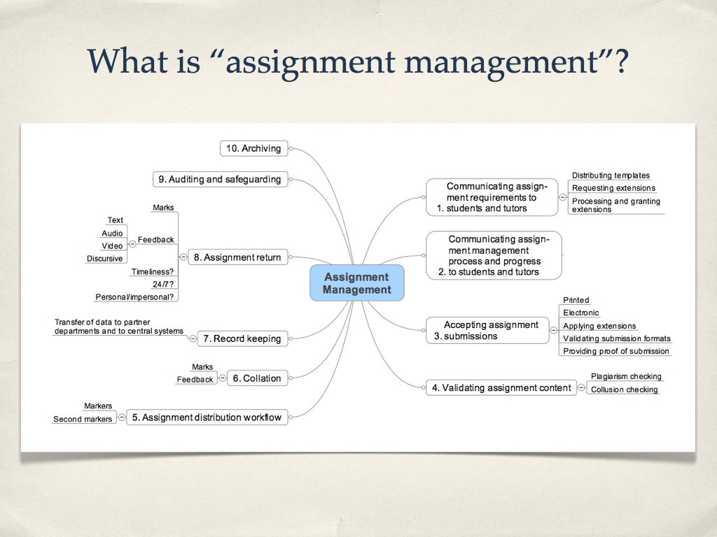 student assignment management system