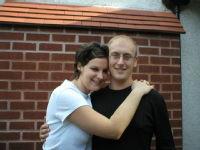 Me and Chris, Sept 06
