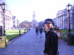 Jen at Trinity College