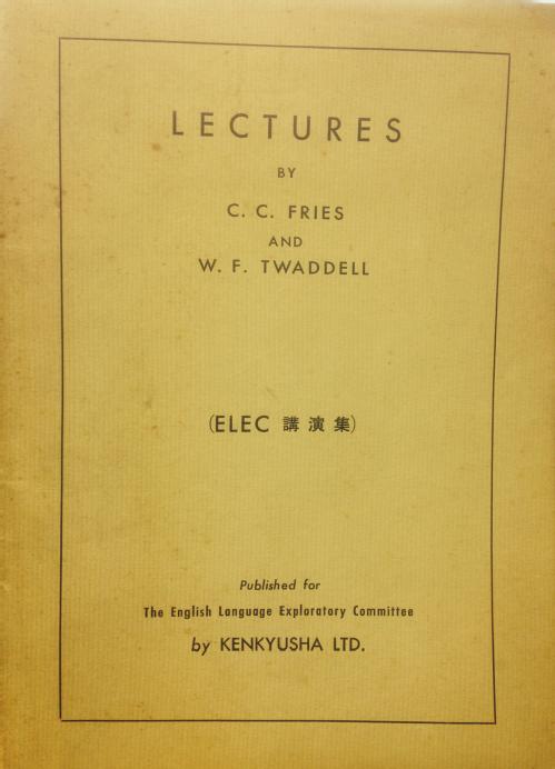 ELEC lectures
