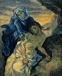 Pieta (after Delacroix), 1889