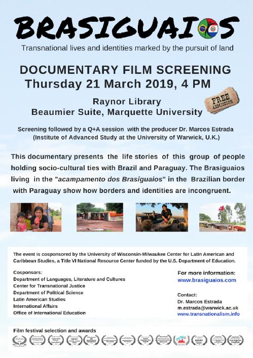 Documentary flyer